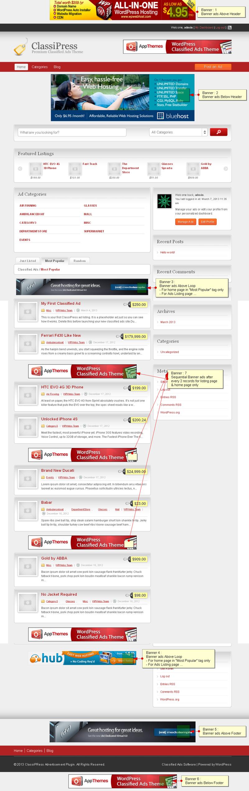 banner_ads_classipress-screenshot-1