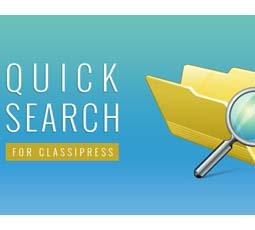 Quick Search ClassiPress