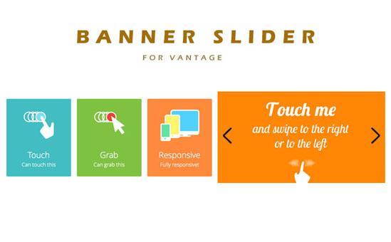 Banner Slider For Vantage